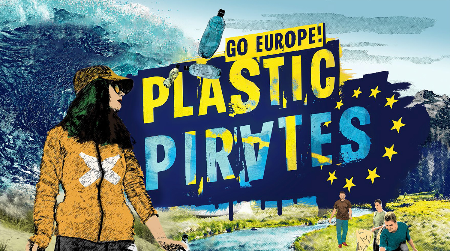 plastic pirates - go europe, plastic pirates, ciência viva